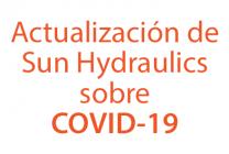 Ultimas noticias de Sun Hydraulics sobre COVID-19
