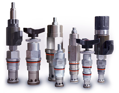 Pilot Operated, Balanced Poppet Relief Valves