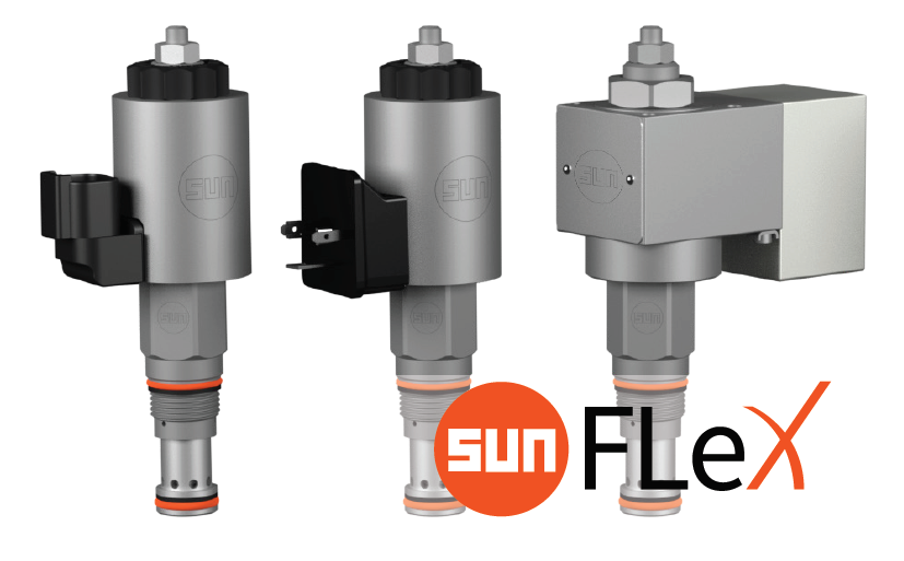 FLeX solenoid-operated relief valves RVC*