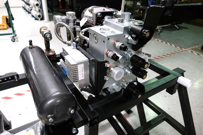 Putting Sun at the heart of hydraulic regenerative braking