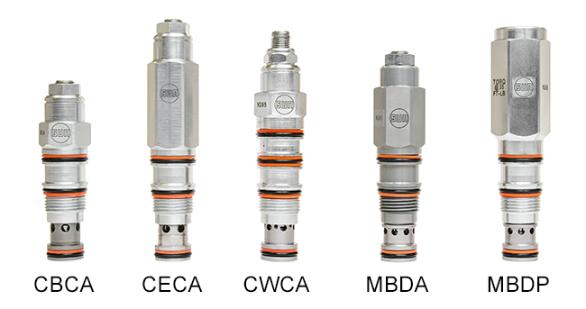 Five Families of Sun Counterbalance Valves